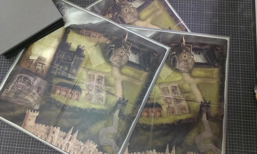 gra planszowa prototyp okleina introligatorska www.okiart.pl 1g