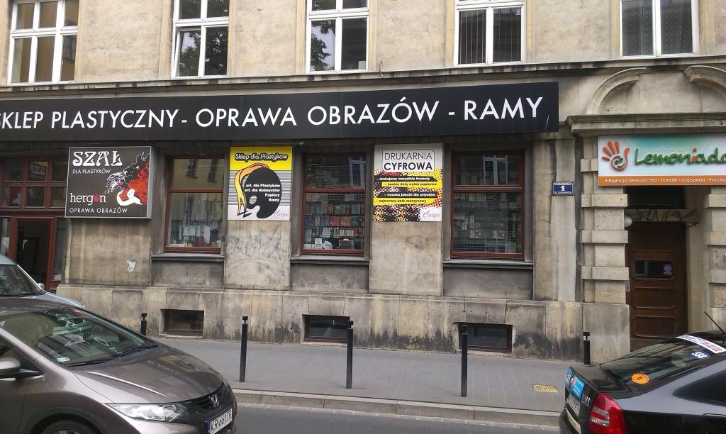 szyldy podświetlane kasetony projket i wykoananie www.okiart.pl